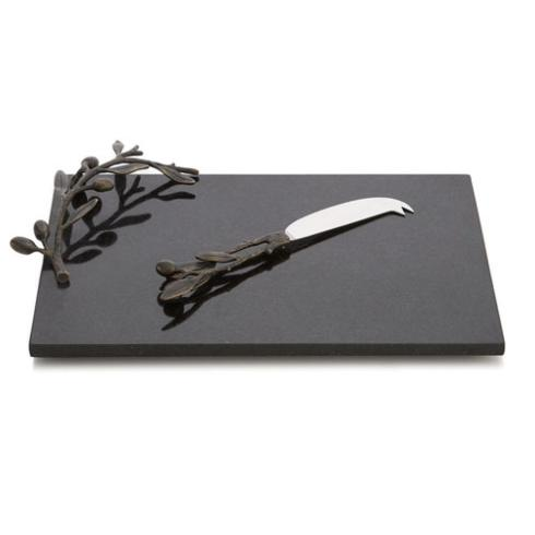 Olive Branch Cheeseboard and Knife